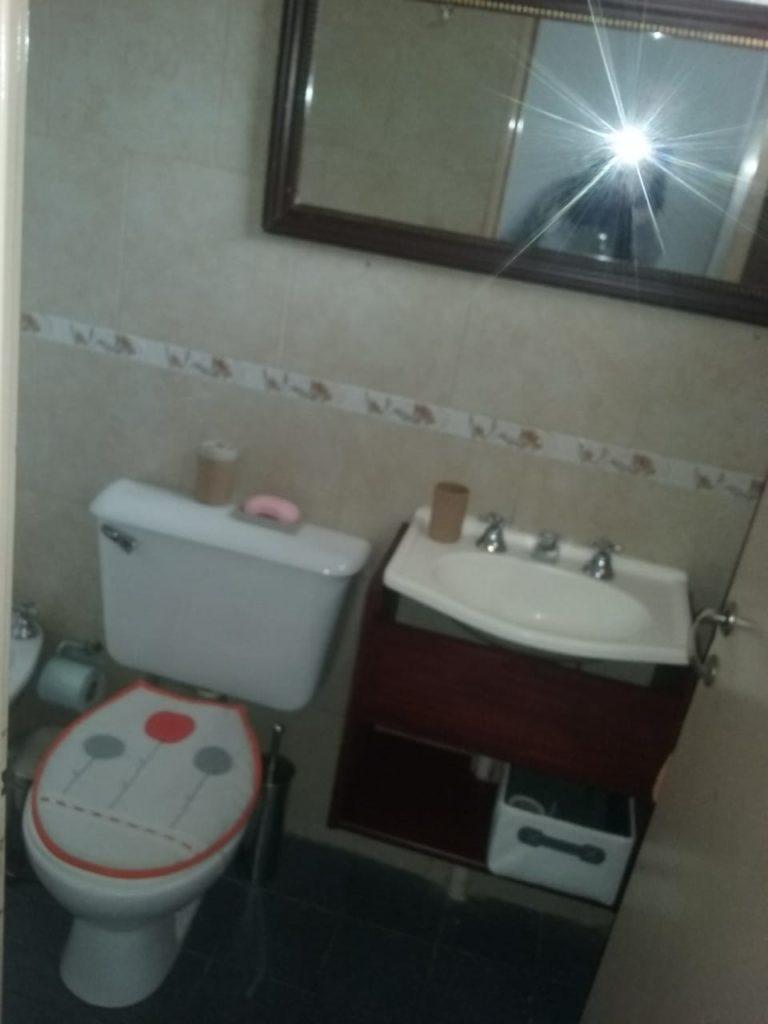 baño de cabañas Gisela.